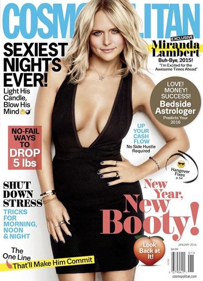 Cosmopolitan Cover - 1/1/2016