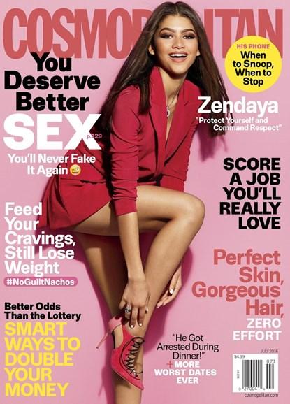 Cosmopolitan Cover - 7/1/2016