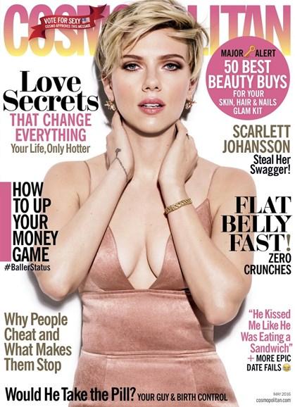 Cosmopolitan Cover - 5/1/2016