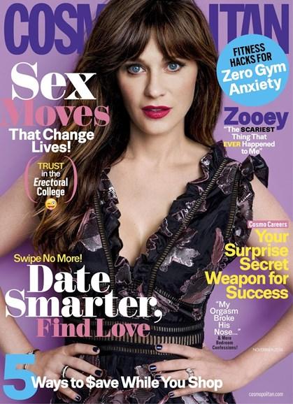 Cosmopolitan Cover - 11/1/2016