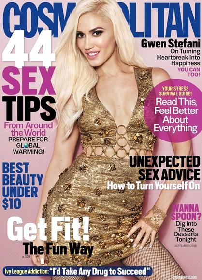 Cosmopolitan Cover - 9/1/2016