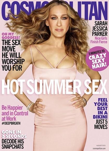 Cosmopolitan Cover - 8/1/2015