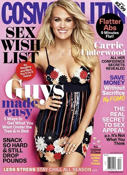 Cosmopolitan Cover - 12/1/2015