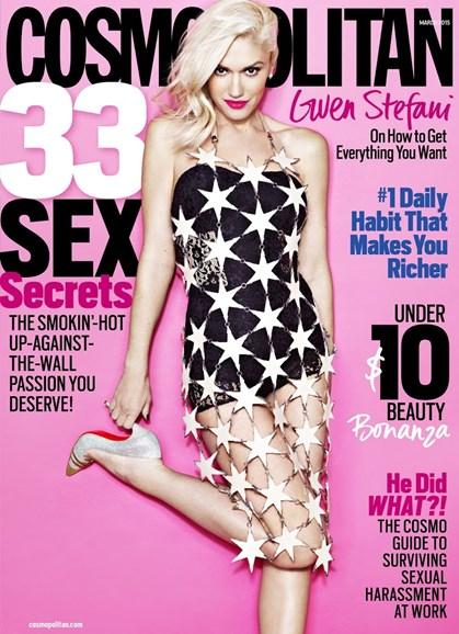 Cosmopolitan Cover - 3/1/2015
