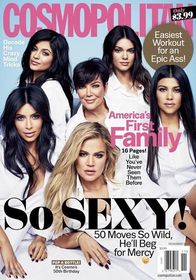 Cosmopolitan Cover - 11/1/2015