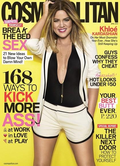 Cosmopolitan Cover - 4/1/2014