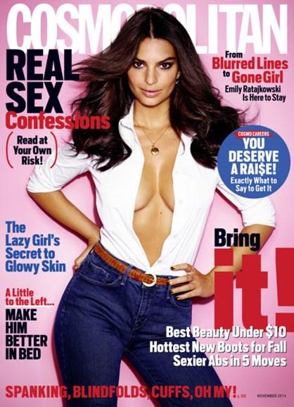 Cosmopolitan Cover - 11/1/2014