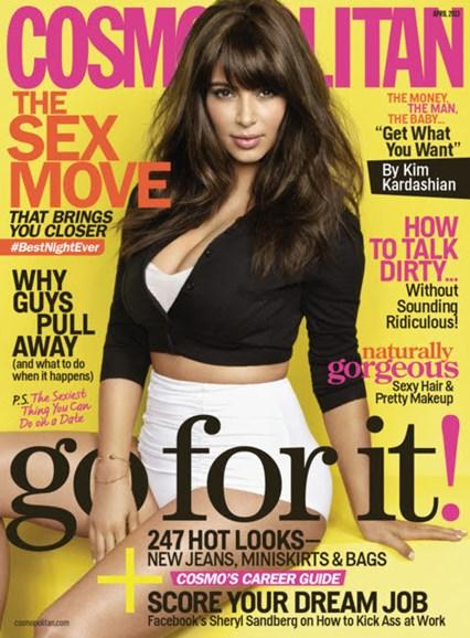 Cosmopolitan Cover - 4/1/2013