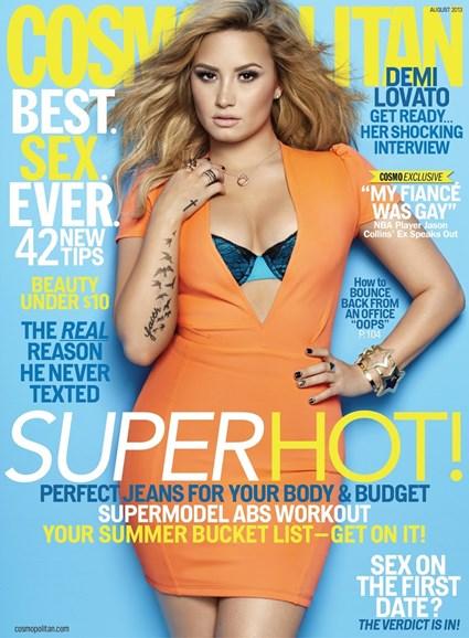 Cosmopolitan Cover - 8/1/2013