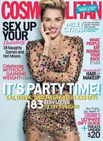 Cosmopolitan Cover - 12/1/2013