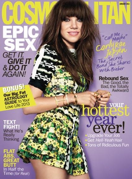 Cosmopolitan Cover - 1/1/2013
