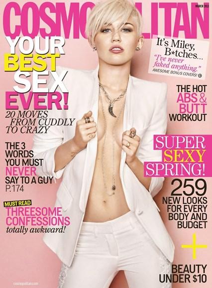 Cosmopolitan Cover - 3/1/2013