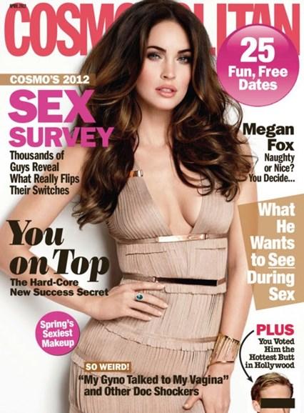 Cosmopolitan Cover - 4/1/2012