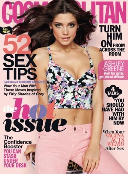 Cosmopolitan Cover - 8/1/2012