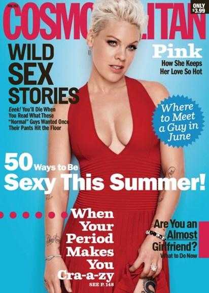 Cosmopolitan Cover - 6/1/2012