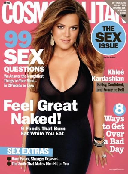 Cosmopolitan Cover - 5/1/2012