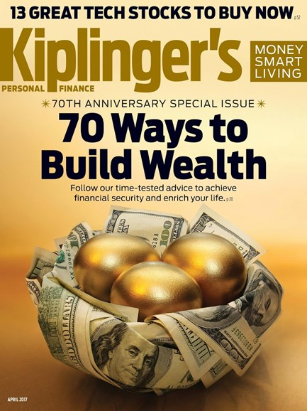 Kiplinger's Personal Finance Cover - 4/1/2017