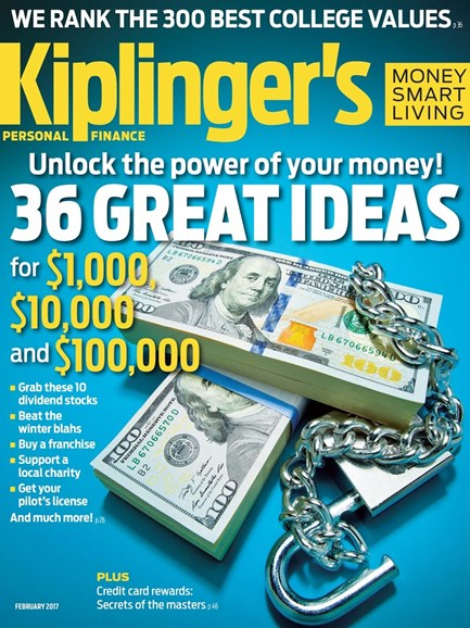 Kiplinger's Personal Finance Cover - 2/1/2017