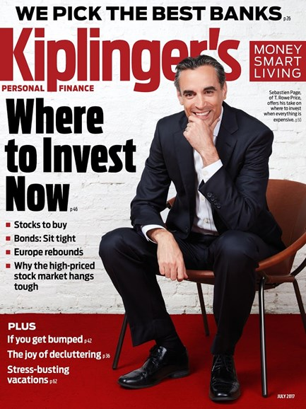 Kiplinger's Personal Finance Cover - 7/1/2017