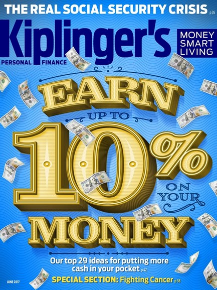 Kiplinger's Personal Finance Cover - 6/1/2017
