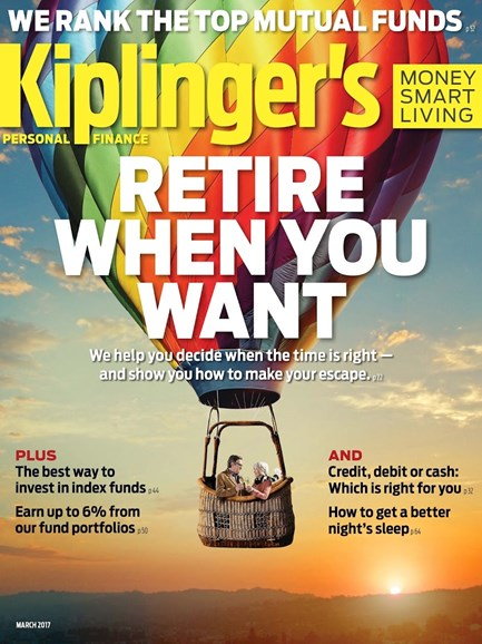 Kiplinger's Personal Finance Cover - 3/1/2017