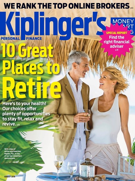 Kiplinger's Personal Finance Cover - 8/1/2016