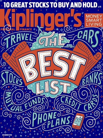 Kiplinger's Personal Finance Cover - 12/1/2016