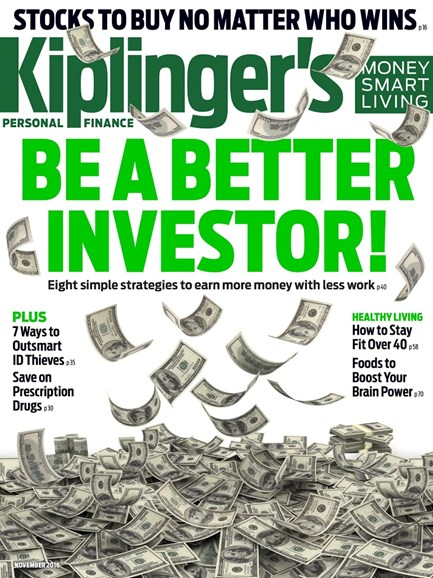 Kiplinger's Personal Finance Cover - 11/1/2016