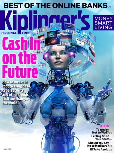 Kiplinger's Personal Finance Cover - 4/1/2015