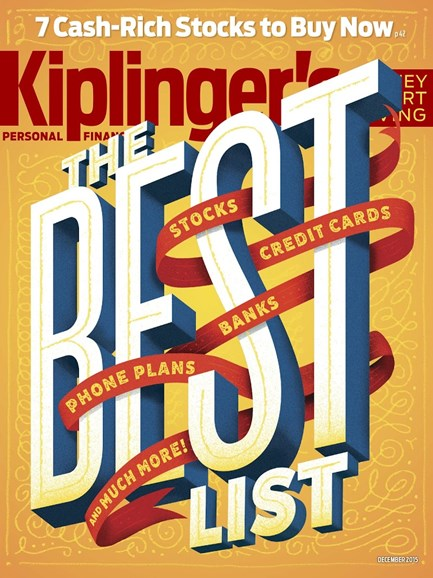 Kiplinger's Personal Finance Cover - 12/1/2015