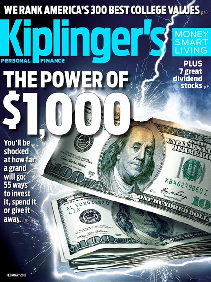 Kiplinger's Personal Finance Cover - 2/1/2015