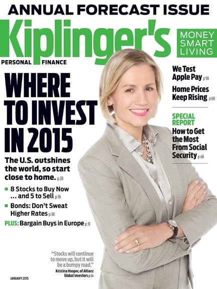 Kiplinger's Personal Finance Cover - 1/1/2015