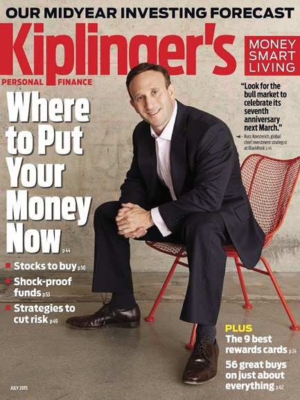 Kiplinger's Personal Finance Cover - 7/1/2015