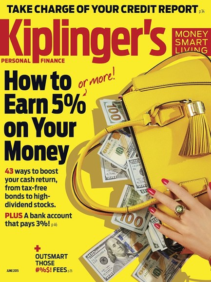 Kiplinger's Personal Finance Cover - 6/1/2015