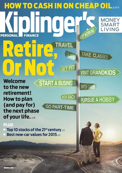 Kiplinger's Personal Finance Cover - 3/1/2015