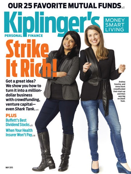 Kiplinger's Personal Finance Cover - 5/1/2015