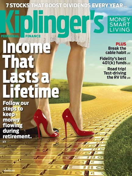 Kiplinger's Personal Finance Cover - 10/1/2015