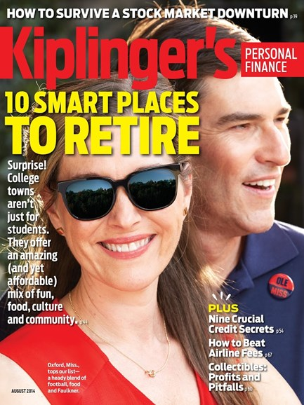 Kiplinger's Personal Finance Cover - 8/1/2014