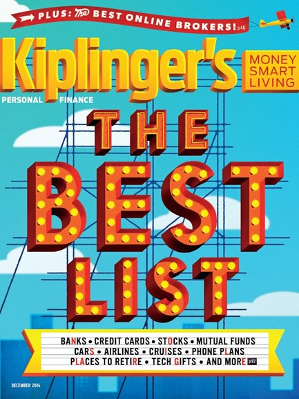 Kiplinger's Personal Finance Cover - 12/1/2014