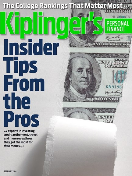 Kiplinger's Personal Finance Cover - 2/1/2014