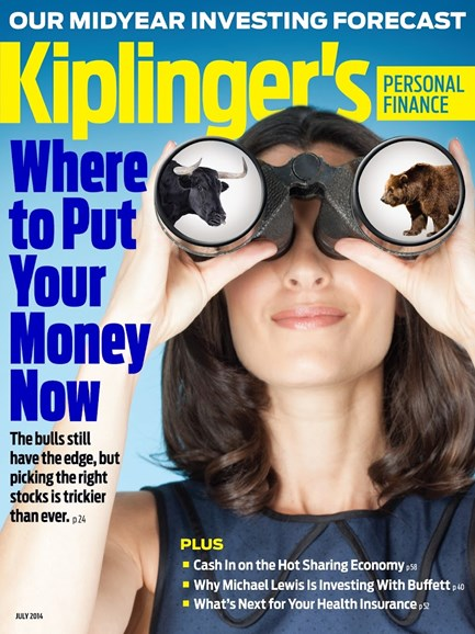 Kiplinger's Personal Finance Cover - 7/1/2014