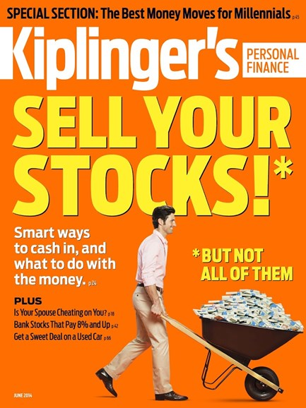 Kiplinger's Personal Finance Cover - 6/1/2014