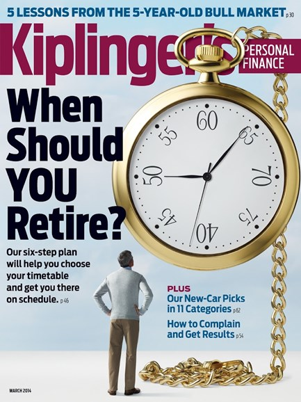 Kiplinger's Personal Finance Cover - 3/1/2014