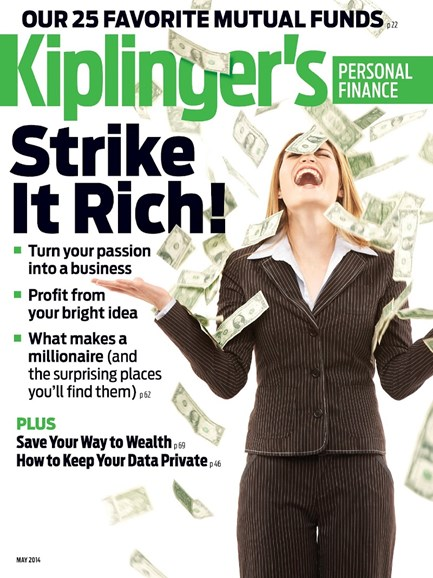 Kiplinger's Personal Finance Cover - 5/1/2014
