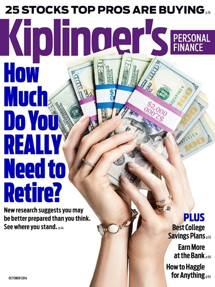 Kiplinger's Personal Finance Cover - 10/1/2014