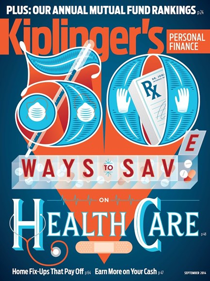 Kiplinger's Personal Finance Cover - 9/1/2014