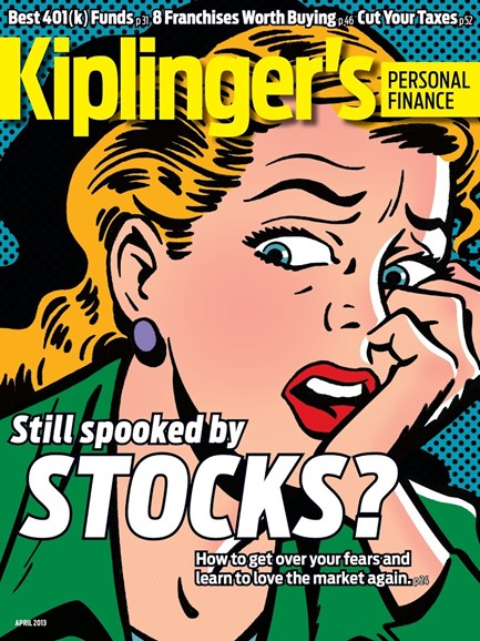 Kiplinger's Personal Finance Cover - 4/1/2013
