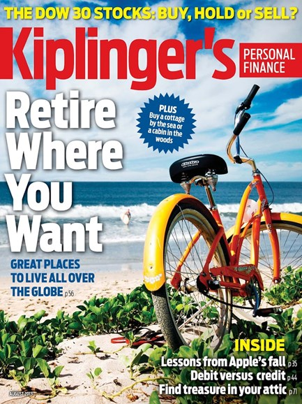 Kiplinger's Personal Finance Cover - 8/1/2013