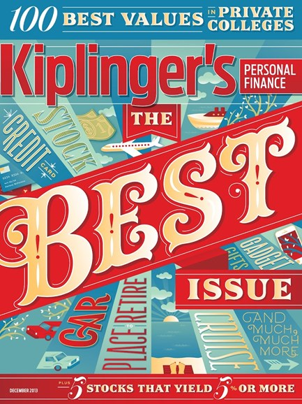 Kiplinger's Personal Finance Cover - 12/1/2013