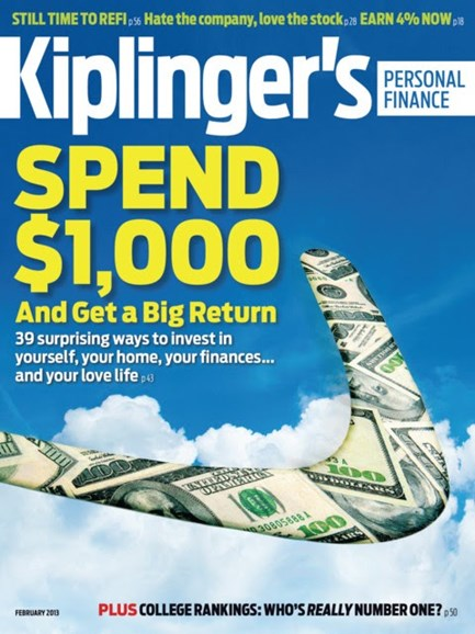 Kiplinger's Personal Finance Cover - 2/1/2013